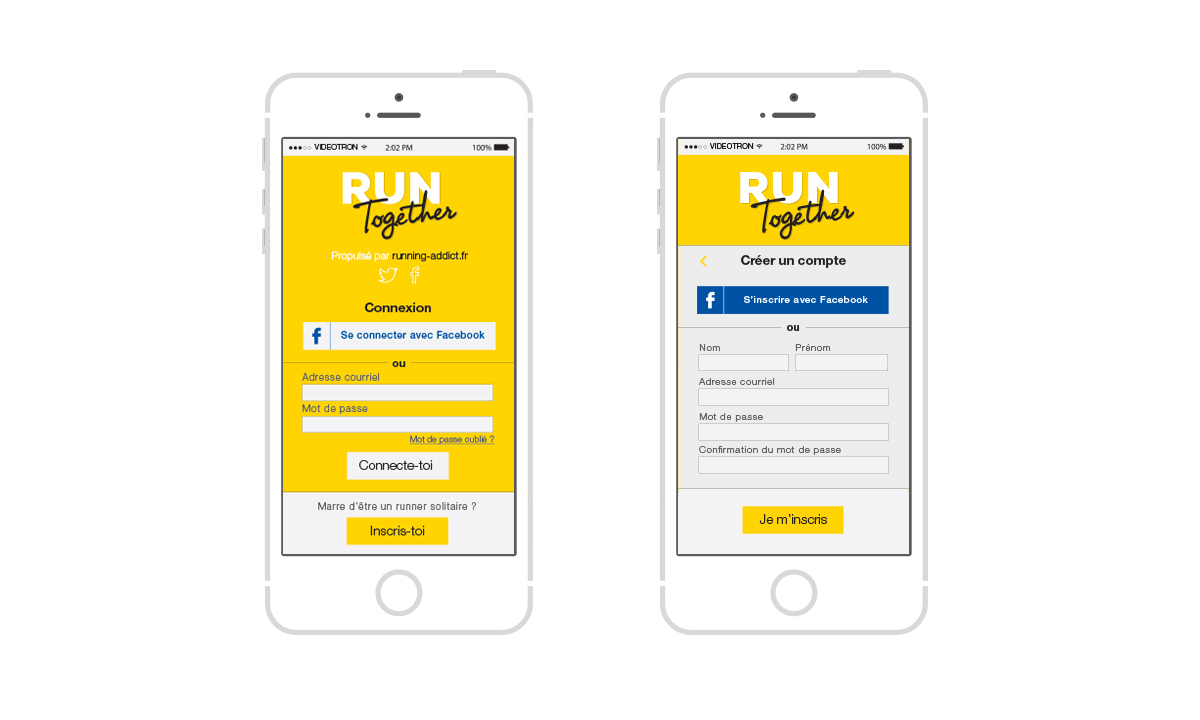 run together application elodie le pape